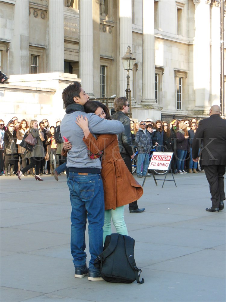 Ali Zafar and Yaami Gautam in London - Total Siyapaa (2)