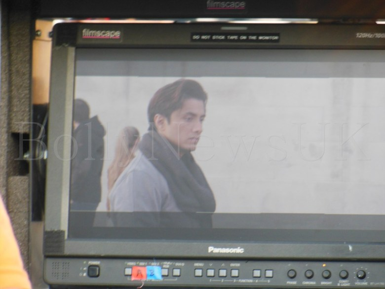 Ali Zafar shooting for Total Siyapaa in London (1)