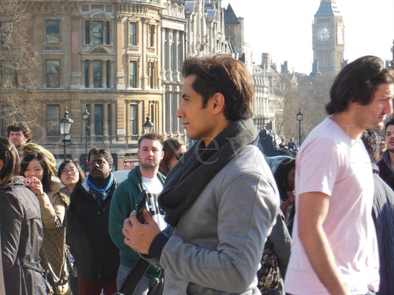 Ali Zafar shooting for Total Siyapaa in London (4)