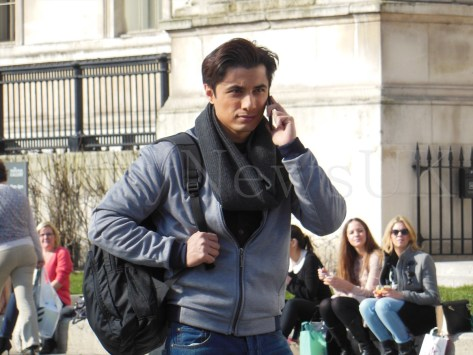 Ali Zafar shooting for Total Siyapaa in London (5)