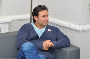 Saif Ali Khan in London at 20th Century Fox UK headquarters
