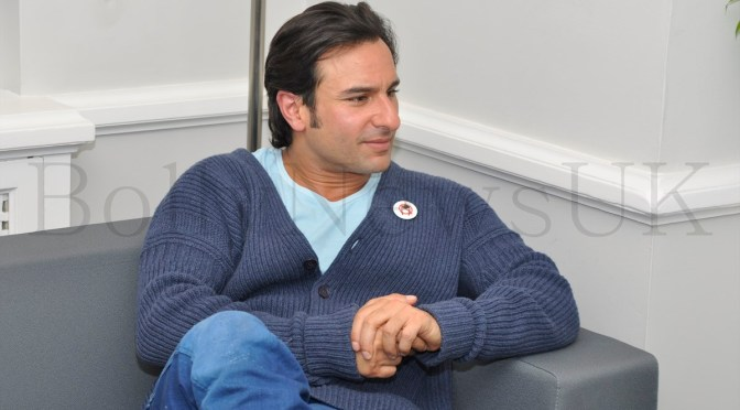 Interview: Saif Ali Khan talks about 'Bullett Raja'