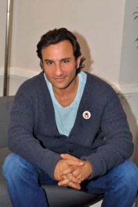 Saif Ali Khan in London at 20th Century Fox UK headquarters