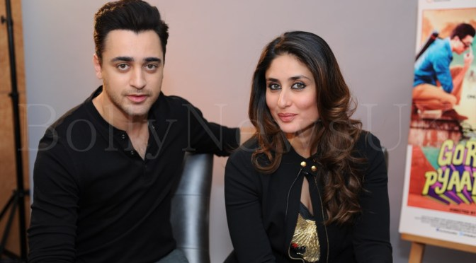 Interview: Kareena and Imran talk about 'Gori Tere Pyaar Mein'