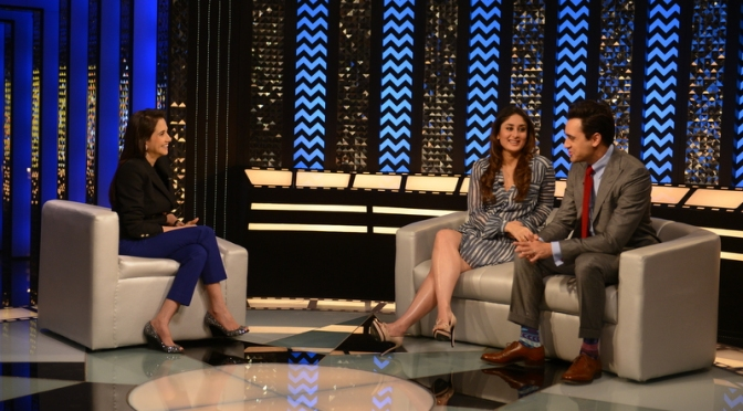 Imran Khan and Kareena Kapoor Khan on 'The Front Row'