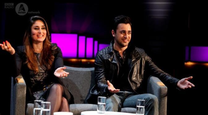 Photos: Imran Khan and Kareena Kapoor at the BBC Asian Network