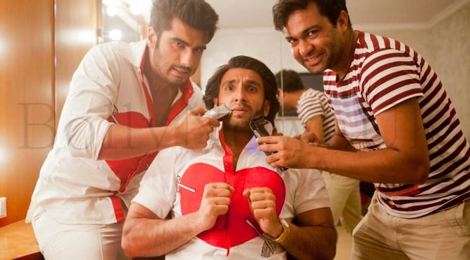 Photos: Ranveer Singh parts with his facial fuzz