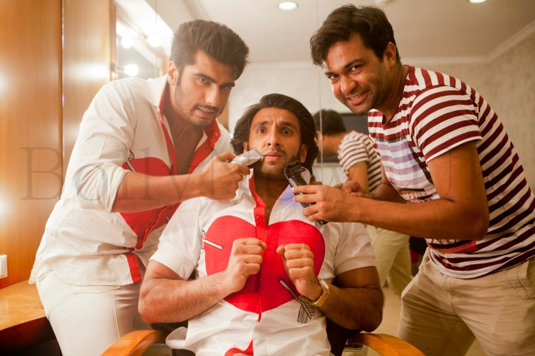 Ranveer Singh parts with his facial fuzz'-2
