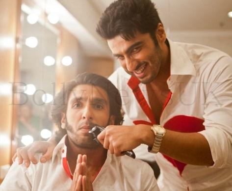 Ranveer Singh parts with his facial fuzz'