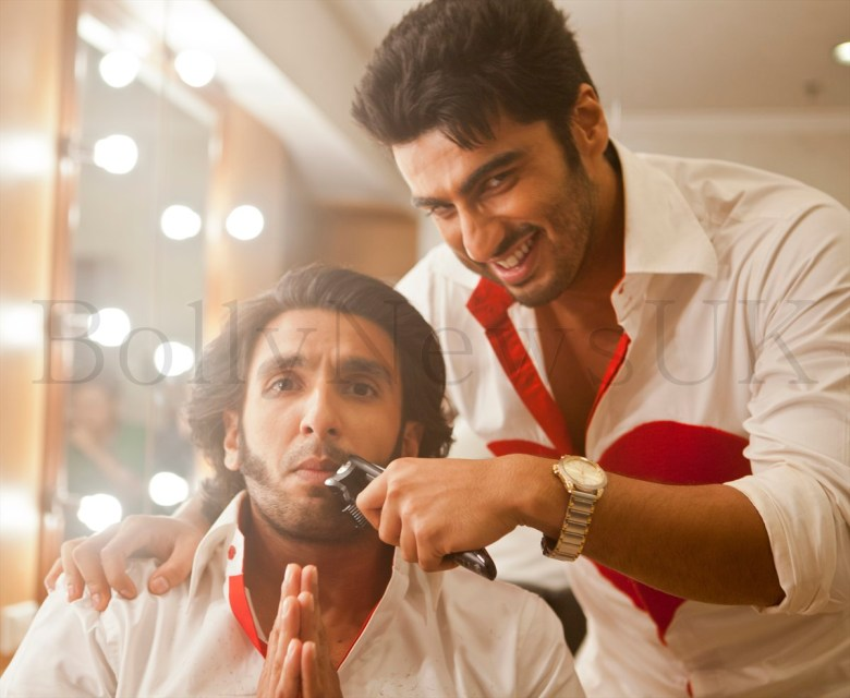 Ranveer Singh parts with his facial fuzz'