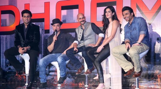 Photos: 'Dhoom:3' cast meets media in Mumbai