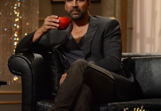 Akshay Kumar to sip Koffee with Karan for the first time