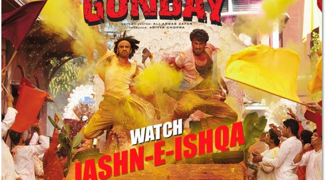 Watch: 'Jashn-E-Ishqa' from 'Gunday'