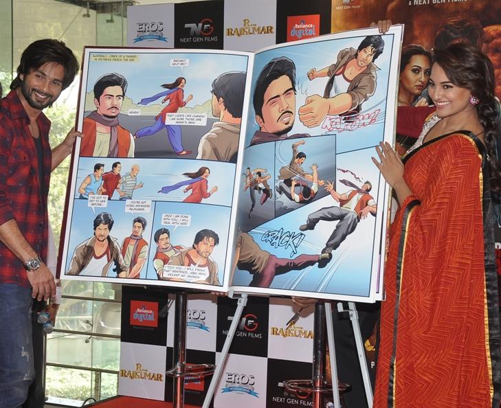 R...Rajkumar custom comic launch (3)
