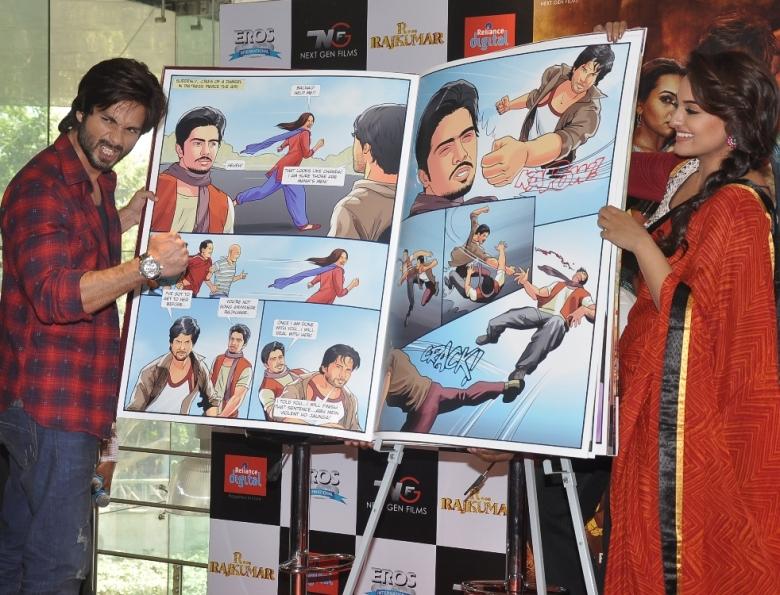 R...Rajkumar custom comic launch (4)