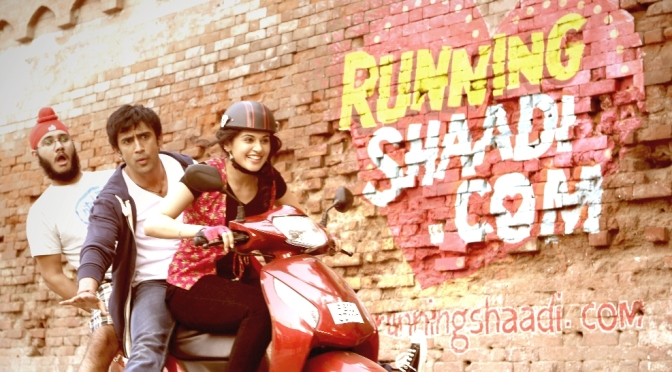 Running Shaadi.com completes filming
