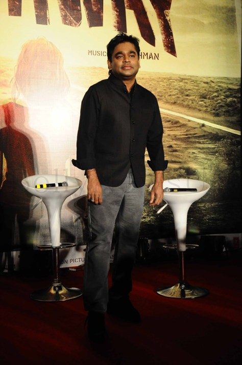 A R Rahman @ the 'Highway' event