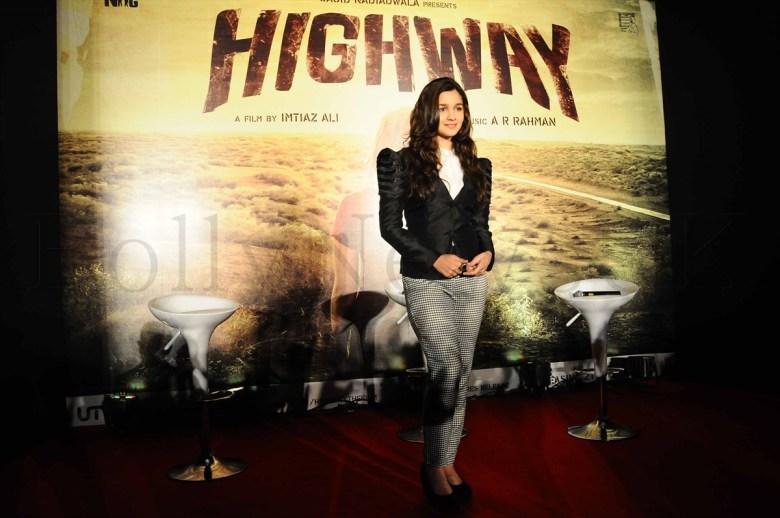 Alia Bhatt @ 'Highway' event