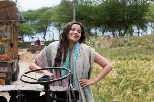 Alia Bhatt shooting for Highway in Ferozpur,  Punjab