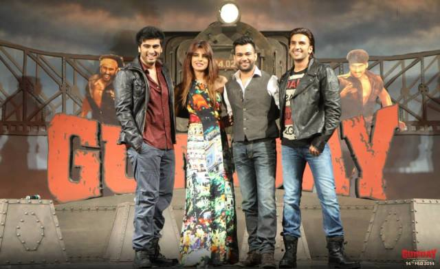 Gunday Music Launch - Cast