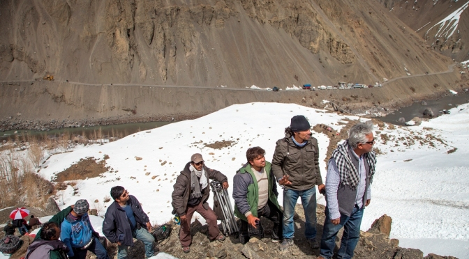 'Highway Diaries'…of landslides on the way to Tabo