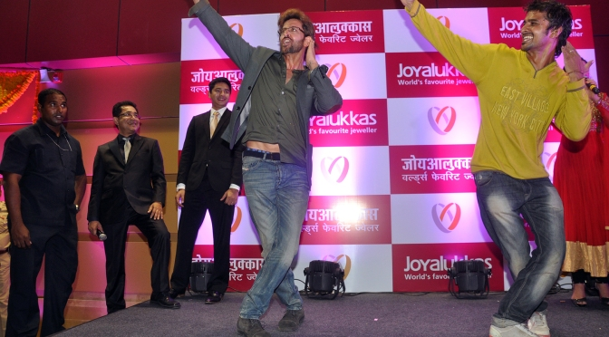 Spotted: Hrithik Roshan at a store launch
