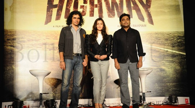 Photos: A.R. Rahman, Alia Bhatt and Imtiaz Ali at 'Highway' event