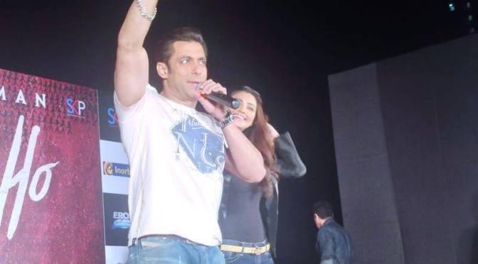 Salman dances to the tunes of Jai Ho
