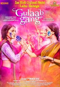 Madhuri & Juhi Holi Poster
