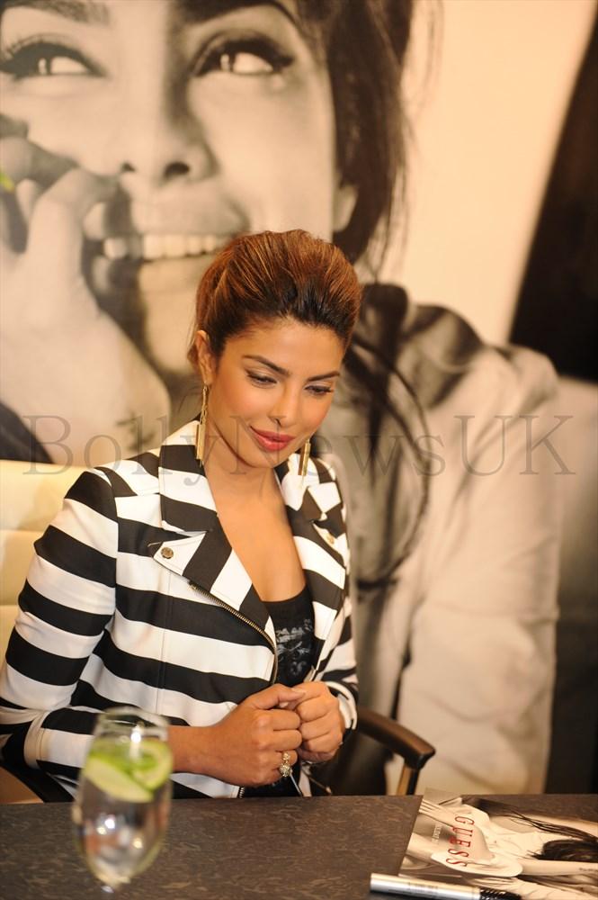 Priyanka Chopra at GUESS Store in London (6)