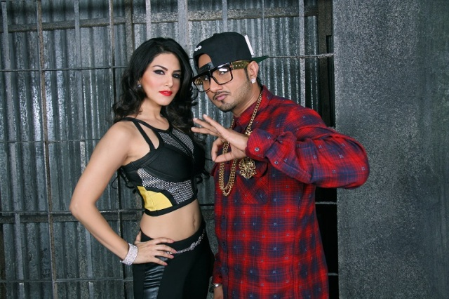 Sunny Leone and Honey Singh for Ragini MMS 2