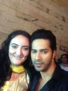 Varun Dhawan and a fan