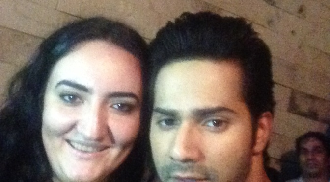 Ukrainian fan comes to India to meet Varun Dhawan