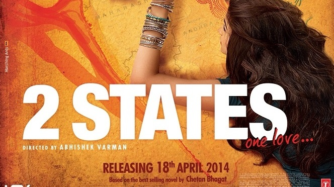 First Look: Alia Bhatt and Arjun Kapoor in '2 States'