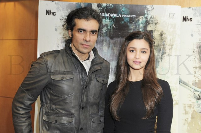 Alia Bhatt and Imtiaz in London (2)