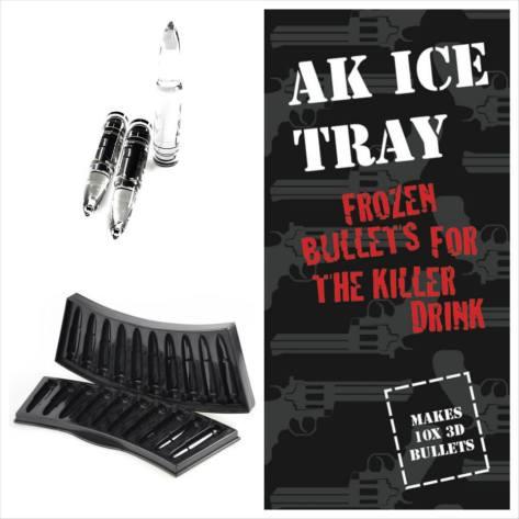 Gunday - Bullet Ice Tray