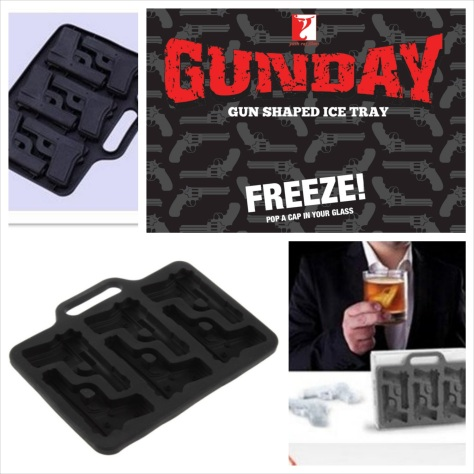 Gunday - Gun Ice Tray
