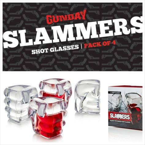 Gunday - Slammers Shot Glasses