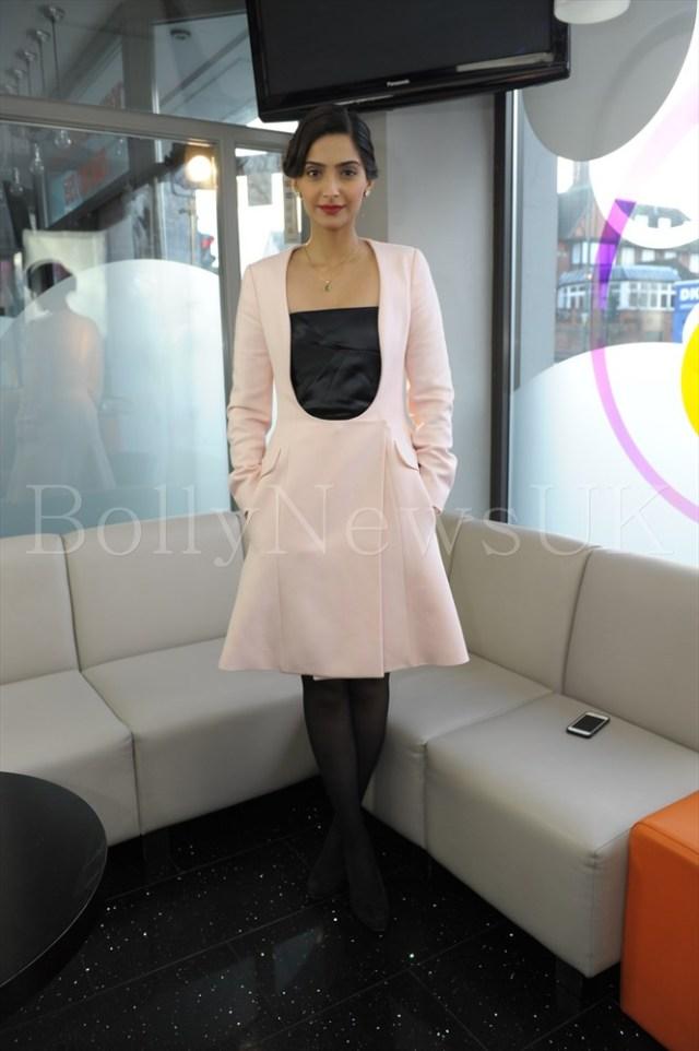 Sonam Kapoor in Dior in London - Bewakoofiyan (1)