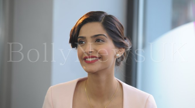 Photos: Sonam Kapoor promotes 'Bewakoofiyaan' in London