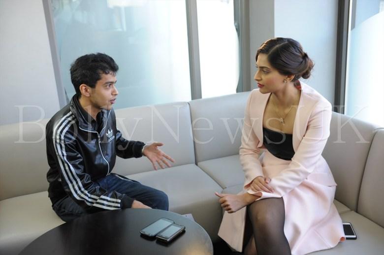 Sonam Kapoor in Dior in London - Bewakoofiyan (5)
