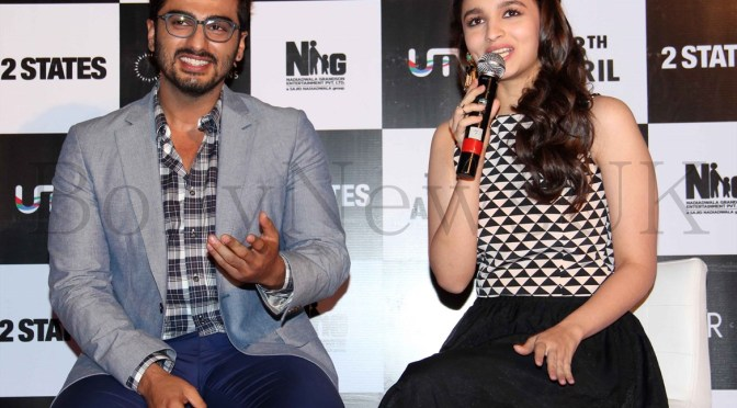 Alia Bhatt and Arjun Kapoor romance in the first trailer of '2 States'
