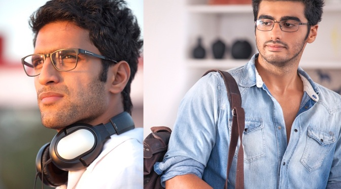 Arjun Kapoor's look similar to his director Abhishek Varman.