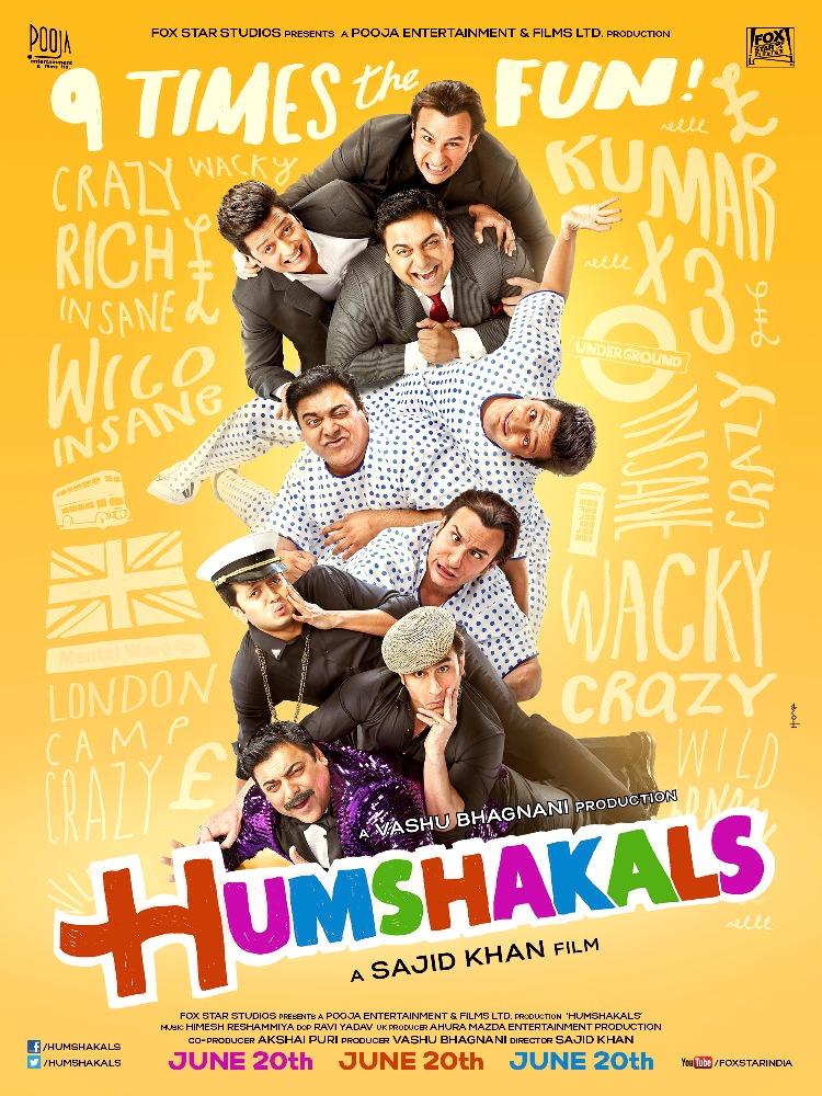 Humshakals - UK Release (1)