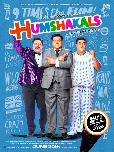 Humshakals - UK Release (2)