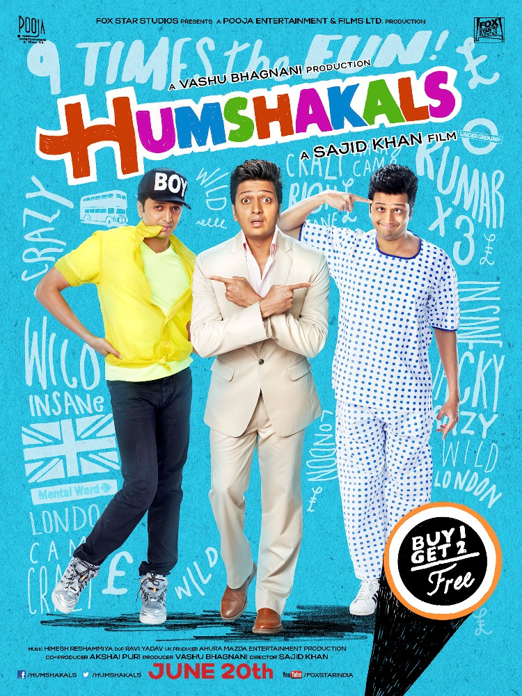 Humshakals - UK Release (3)