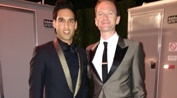 Sid Mallya attends Elton John's  Oscar bash, catches up with Neil Patrick Harris