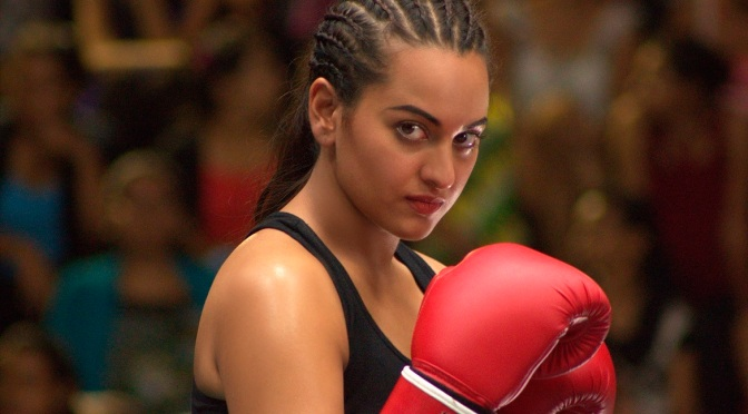 Sonakshi Sinha's look inspired by Laila Ali