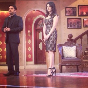 Sunny Leone on Comedy Nights with Kapil Sharma