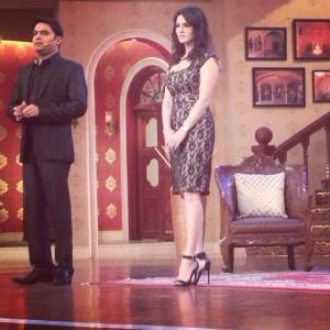 Sunny Leone on Comedy Nights with Kapil Sharma